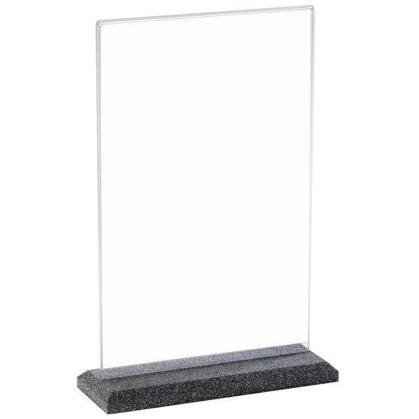"""Cal-Mil 650 Granite Base Displayette - 4"""" x 6"""""""