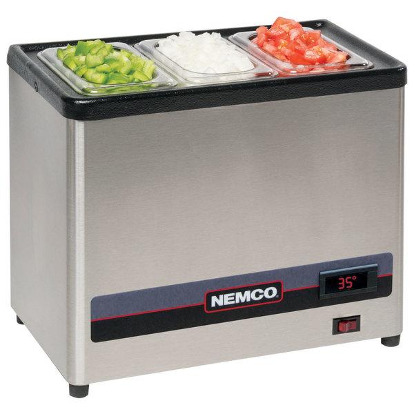Nemco 9020 Countertop Cold Condiment Chiller - 120V
