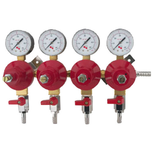 Micro Matic 8044 Economy Series Quadruple Gauge Secondary CO2 Low-Pressure Regulator Main Image 1