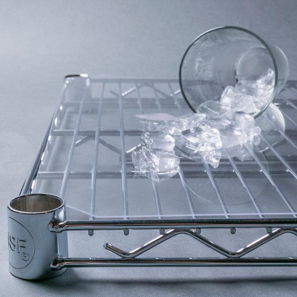 "Regency Shelving Clear PVC Shelf Mat Overlay - 24"" x 60"""