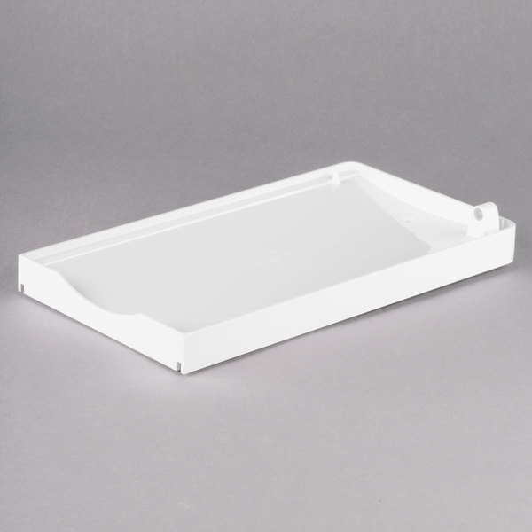 Bunn 32111.0002 Right White Hopper Drip Tray for ULTRA-2 Frozen Drink Machines