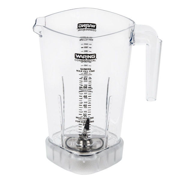 Waring 030856 48 oz. Jar with Blending Assembly for MMB and CAC106 Blenders Main Image 1