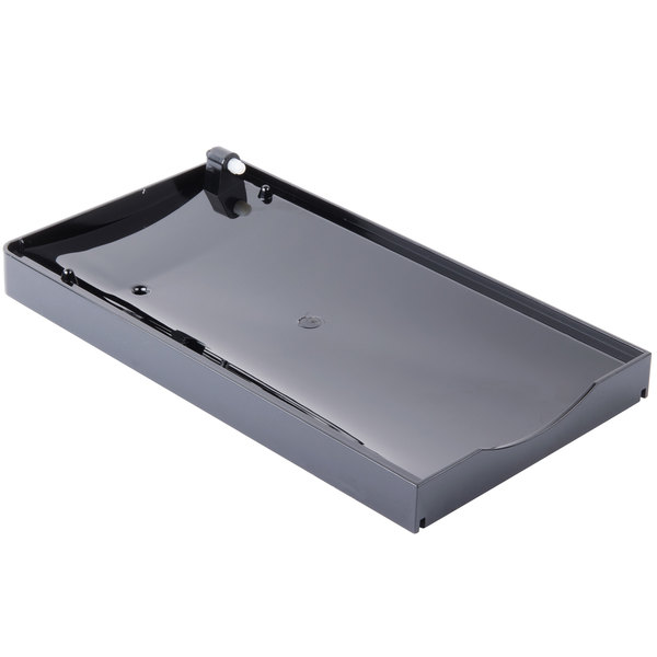 Bunn 39898.1001 Black Hopper Drip Tray Assembly for Ultra-1 Frozen Beverage Systems