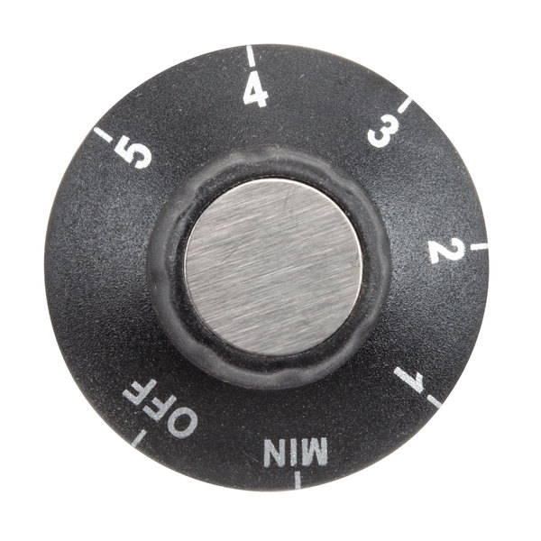 Waring 031098 Temperature Knob for Countertop Ranges (Off, Min, 1 - 5) Main Image 1