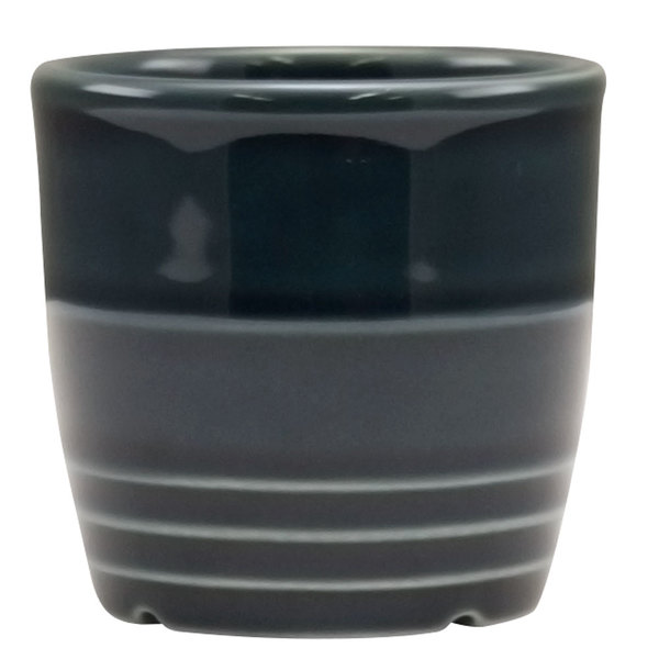 "Homer Laughlin 13329712 Bosque Blueberry 2 5/8"" Sugar Caddy / Sauce Cup - 36/Case"