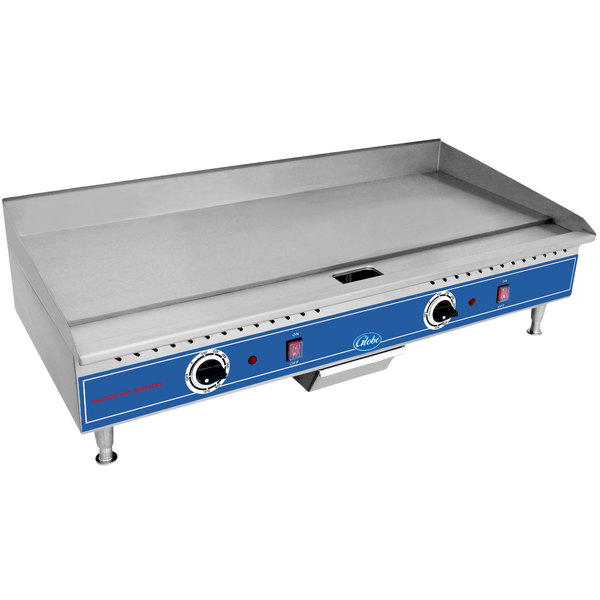 """Globe PG36E 36"""" Electric Countertop Griddle - 5400W Main Image 1"""