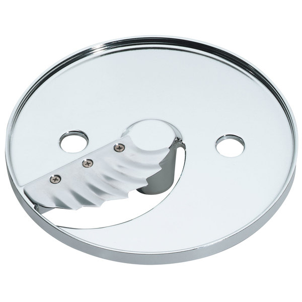 "Waring 502666 1/16"" Waved Slicing Disc Main Image 1"