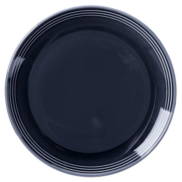 "Homer Laughlin 13089712 Bosque Blueberry 9"" Round Plate - 24/Case"