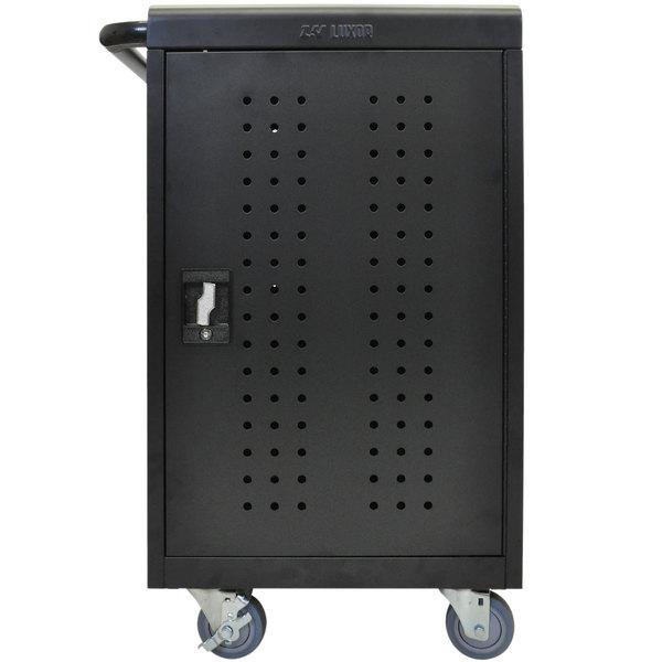 "Luxor LLTM30-B 30 Tablet / Chromebook Charging Cart - 26"" x 20 1/4"" x 36 3/4"""