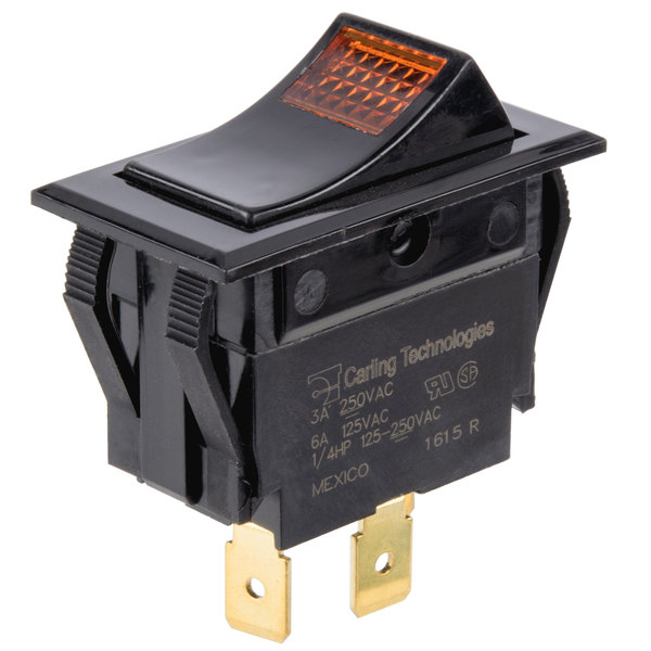 Bunn 02753.0000 On / Off Rocker Switch for Coffee Brewers, Servers, Warmers & Tea Brewers Main Image 1