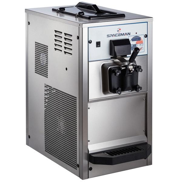 Spaceman 6236H Soft Serve Ice Cream Machine with 1 Hopper - 208/230V