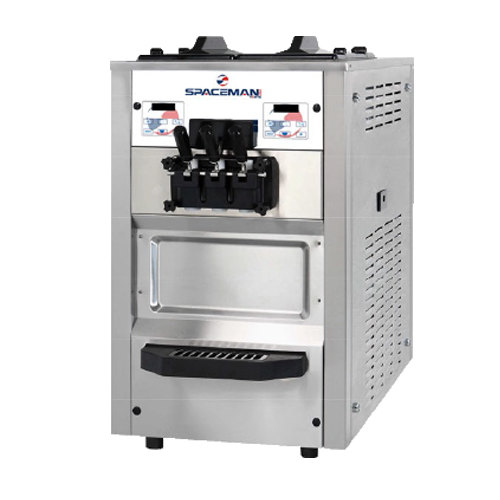 Spaceman 6245H Soft Serve Ice Cream Machine with 2 Hoppers