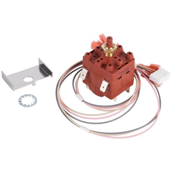 Bunn 39053.1000 Switch and Harness Assembly with Standard Bypass for Dual & Single Coffee Brewers Main Image 1