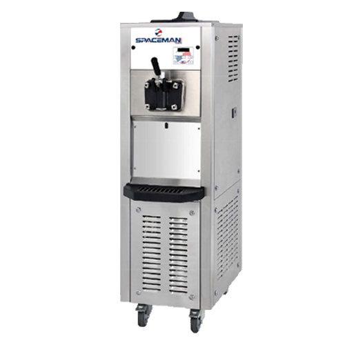 Spaceman 6338H Soft Serve Ice Cream Machine with 1 Hopper