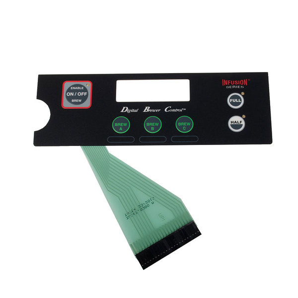 Bunn 36367.0000 Membrane Switch for ICB Single Coffee Brewers