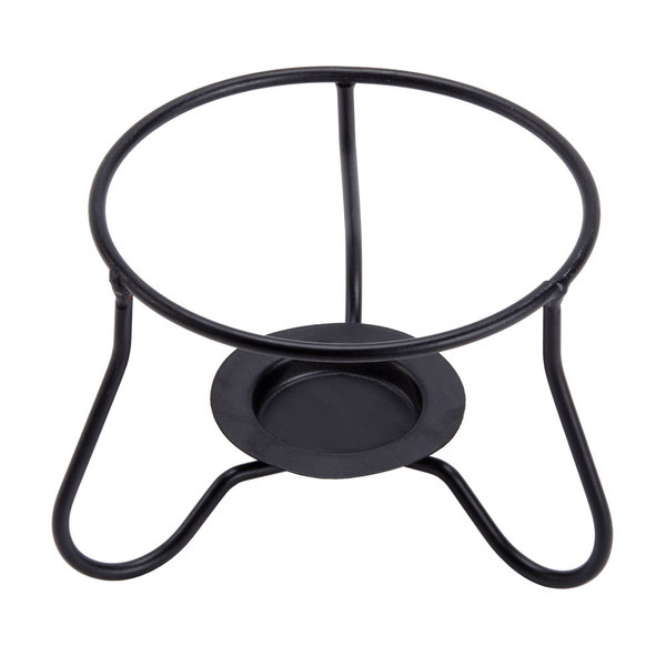 CAC RCN-140 STAND Sushi Signature Pattern Fire Stand for RCN-140 Pasta Bowl with Lid - 12/Case