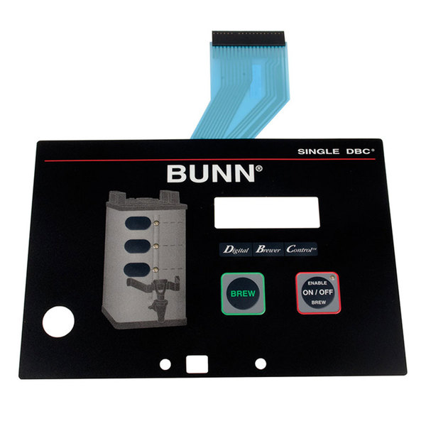 Bunn 29973.0000 Membrane Switch for Single SH Coffee Brewers