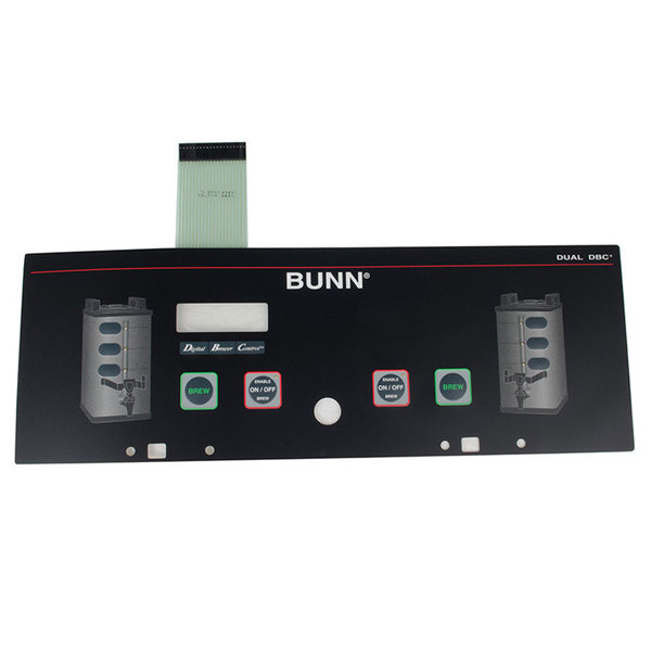 Bunn 29974.0000 Membrane Switch for Dual SH Coffee Brewers