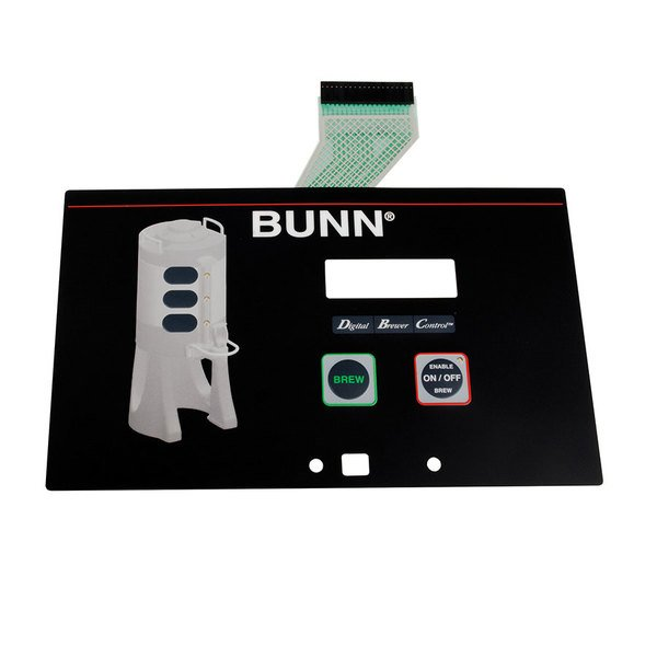 Bunn 35242.0000 Membrane Switch for Single TF Brewers Main Image 1