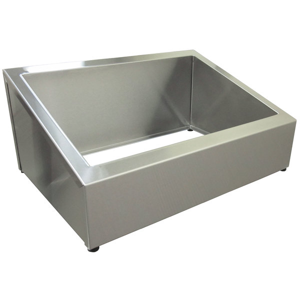 Steril-Sil E1-CBD-1H Stainless Steel Countertop Silverware Dispenser for One E1 Insert