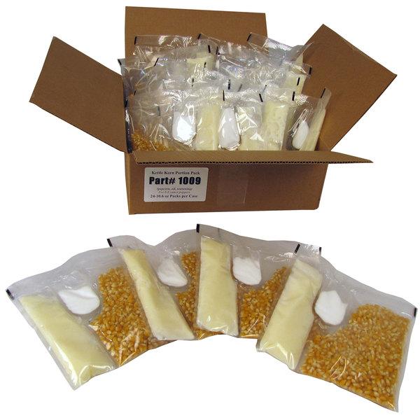 Paragon 1009 Kettle Korn Portion Pack for 6 oz. Popper - 24/Case Main Image 1