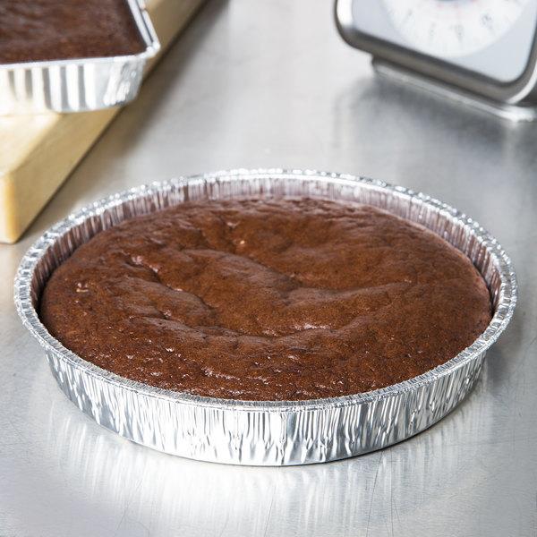 """9"""" Foil Cake Pan - 25/Pack"""