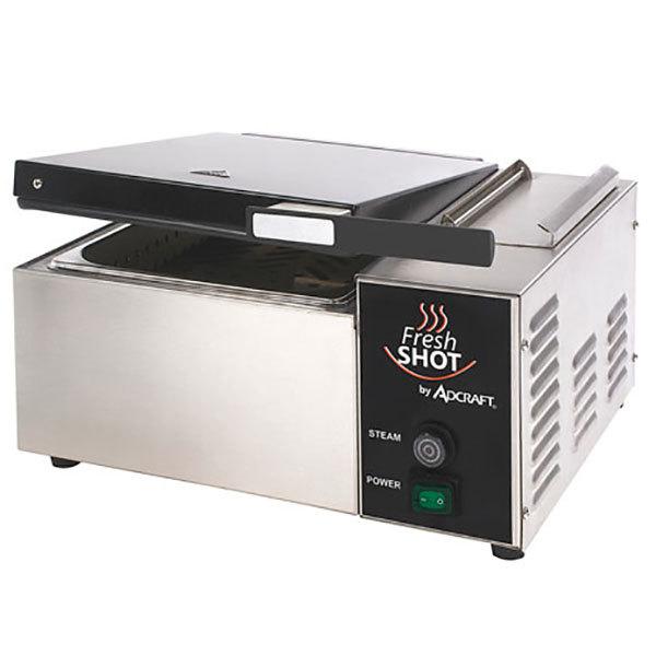 Adcraft CTS-1800W Fresh Shot Countertop Tortilla / Portion Steamer - 120V