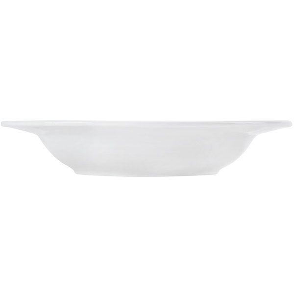 Box of 12 CAC China HMY-123 11 3//4-Inch Harmony Porcelain Wide Rim Pasta Bowl White 12-Ounce