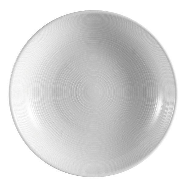 CAC HMY-82 Harmony 25 oz. Super White Porcelain Salad / Pasta Bowl - 12/Case