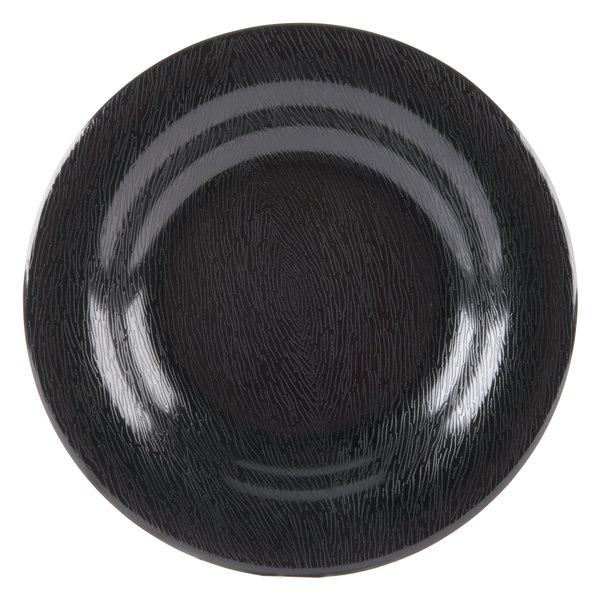 GET B-1391-BK Etchedware 13 oz. Textured Black Bowl - 24/Case