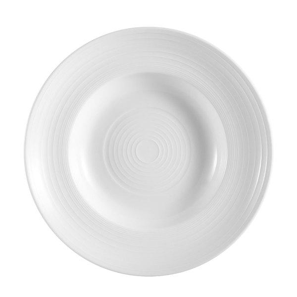 CAC TGO-133 Tango 18 oz. Bone White Porcelain Pasta Bowl - 12/Case