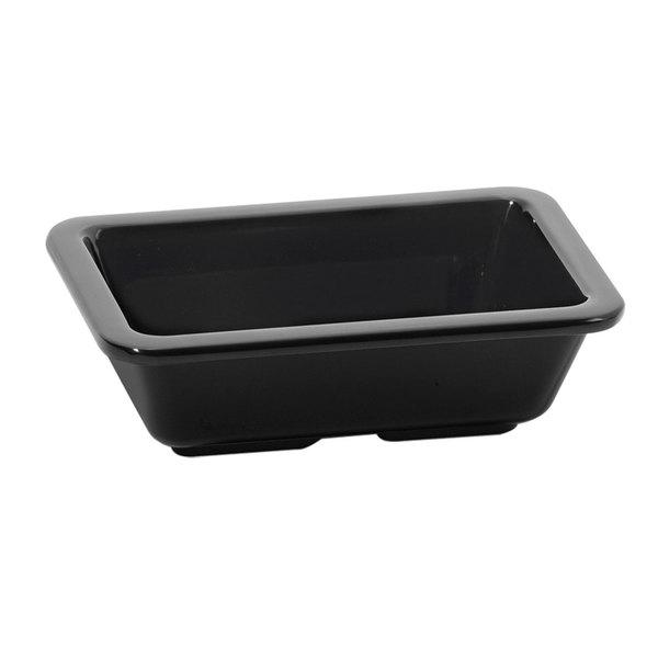 GET ML-123-BK Milano Black 4 oz. Side Dish - 12/Case