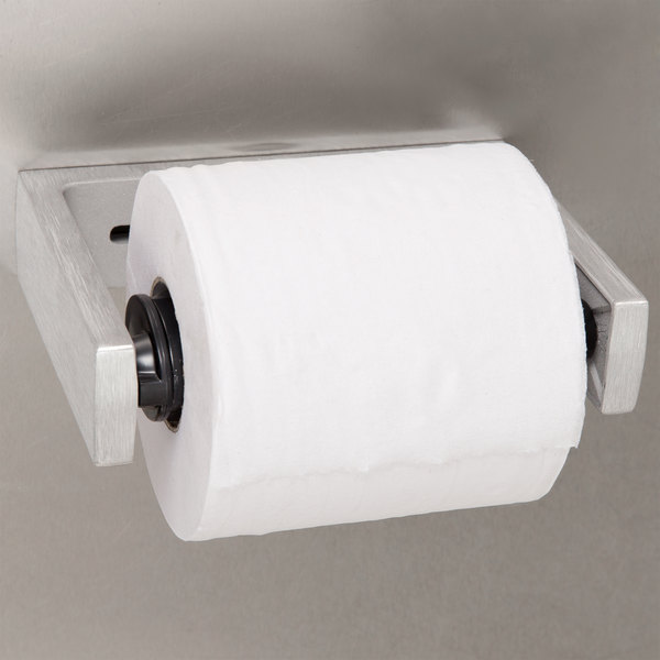 Bobrick B-2730 ClassicSeries Single Roll Toilet Tissue Dispenser with Satin Finish Main Image 3