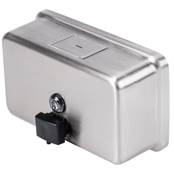 Stainless Steel Free /& Fast Shipping Bobrick B-2112 Commercial Soap Dispenser