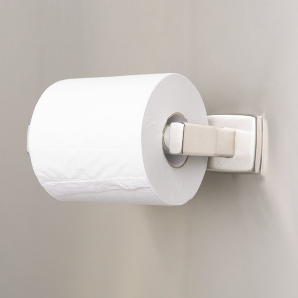 Bobrick B-6857 Surface-Mounted Toilet Tissue Dispenser with Satin Finish