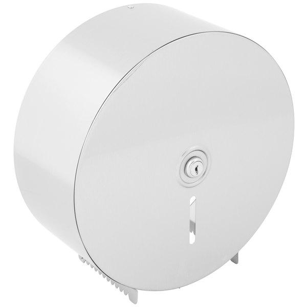 Bobrick B-2890 Jumbo Roll Surface-Mounted Single Roll Toilet Tissue Dispenser with Satin Finish
