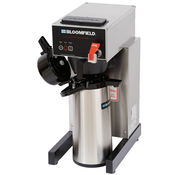 Bloomfield 1088AF-240V E.B.C. Automatic Airpot Coffee Brewer - Touchpad Controls, 115/230V (Canadian Use Only)