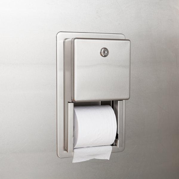Bobrick B 3888 Classicseries Multi Roll Recessed Toilet