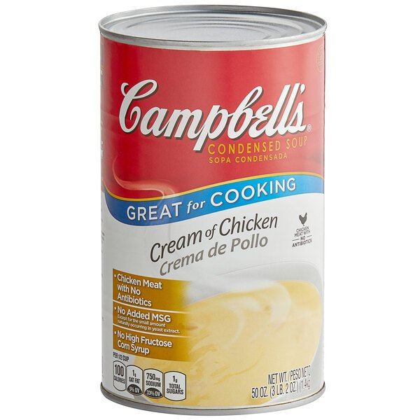 Campbell S Cream Of Chicken Soup Condensed 50 Oz Can