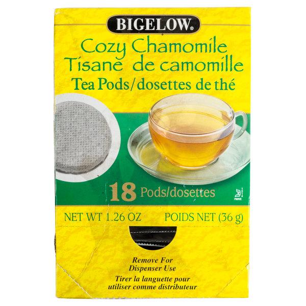 Bigelow Cozy Chamomile Tea Pods - 18/Box