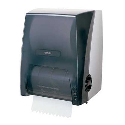 Bobrick B-72860 Surface Mounted Touch-Free Paper Towel Dispenser for 8 inch Diameter Rolls - 12 1/2 inch x 15 1/2 inch x 9 1/2 inch