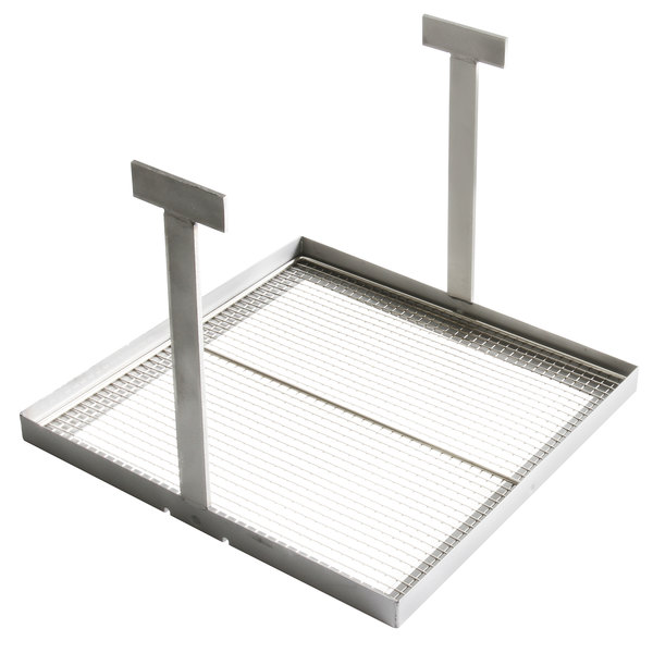 "Frymaster 1064136 14"" x 14"" Sediment Tray for HD50, HD50G, SM50, and D50G Fryers Main Image 1"