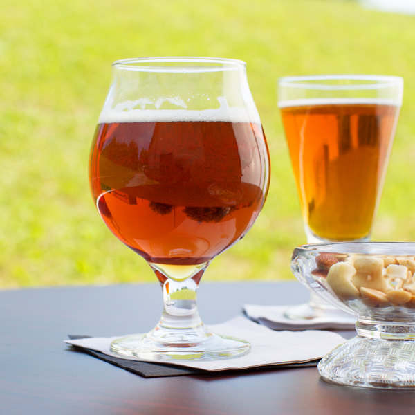 Libbey 3808 16 oz. Customizable Belgian Beer Glass - 12/Case