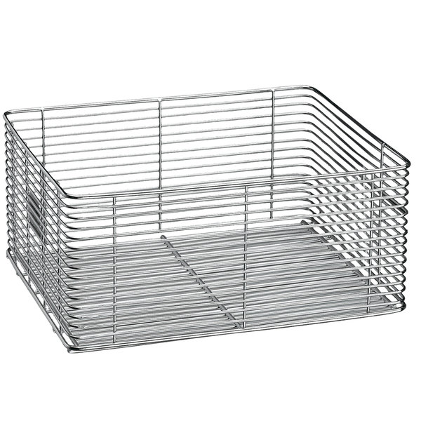 """Waring 030300 10 1/4"""" x 4"""" x 4 3/4"""" Twin Fryer Replacement Basket without Handle"""