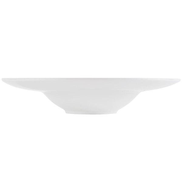 CAC FDP-3 Paris French 8 oz. Bone White Porcelain Soup Bowl - 24/Case