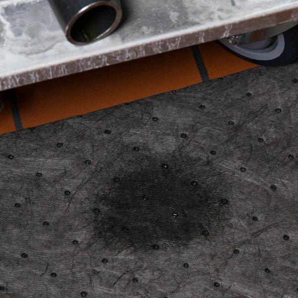 "Spilfyter SFG-90 Streetfyter Universal Gray Heavy Weight Absorbent Roll - 32"" x 150'"