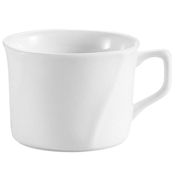 CAC PHA-54 Philadelphia 4.5 oz. Super White Porcelain Cup - 36/Case