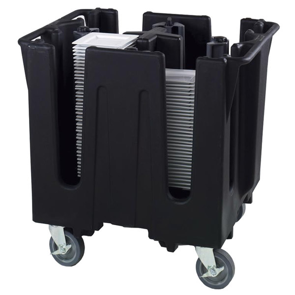 """Vollrath SAC-SQ1 Traex® Adjustable Dish Caddy for 9 5/8"""" to 10 5/8"""" Square Plates / Bowls"""