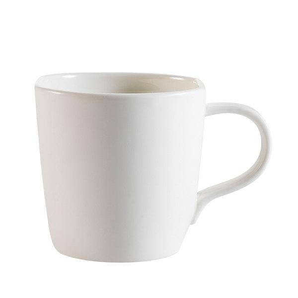 CAC STU-1 Studio 5 oz. Bone White Porcelain Cup - 36/Case Main Image 1