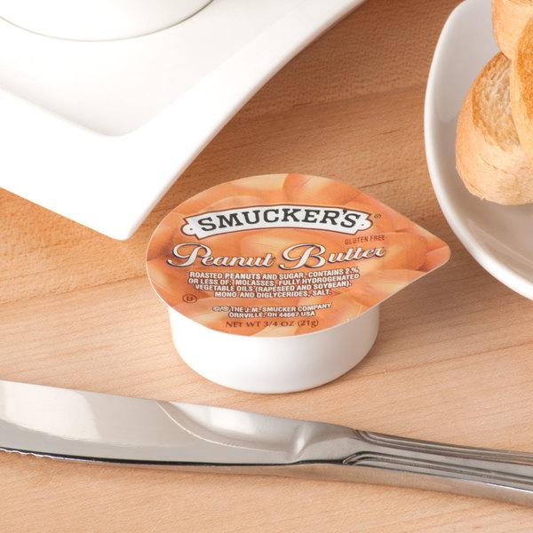 Smucker's Peanut Butter - (200) .75 oz. Portion Cups / Case - 200/Case